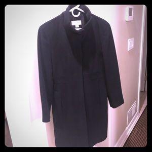 Calvin Klein angora/wool coat